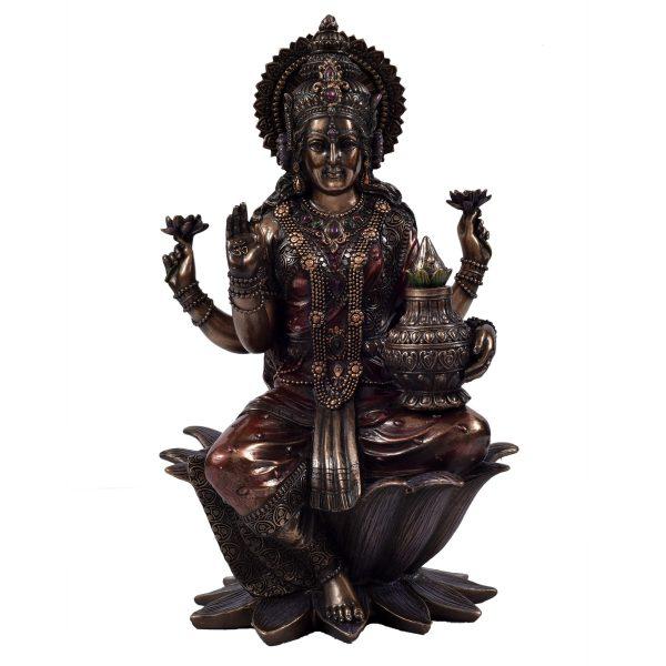 Laxmi Sitting On Lotus