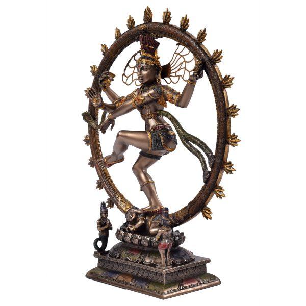 Brass Natraj Dancing