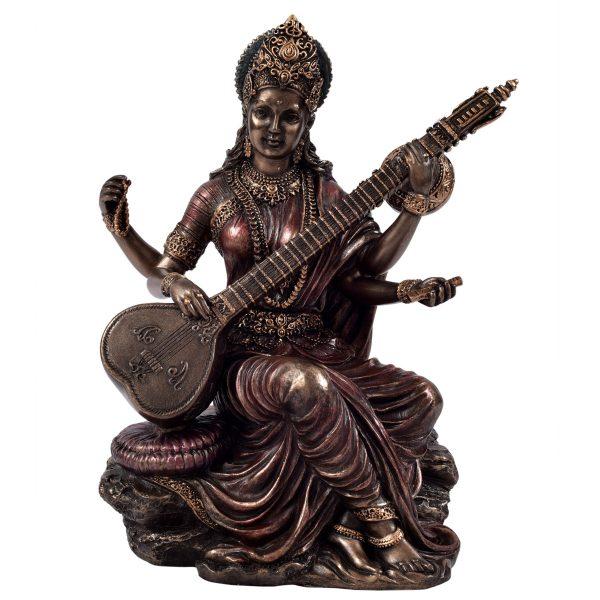 Saraswathi Idol Sitting