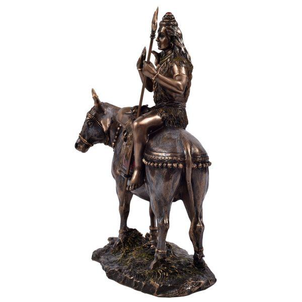 Brass Shiva Sitting On Nandi