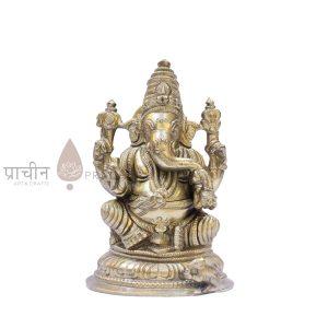 Panchaloha Ganesha Sitting