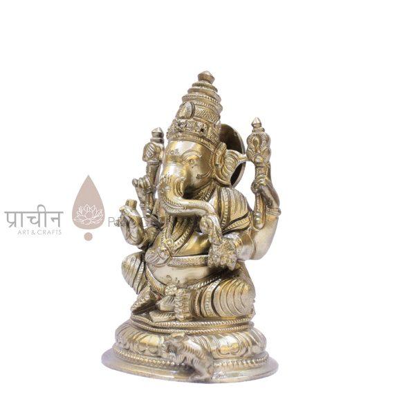Bronze Ganesha Sitting