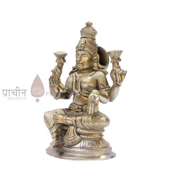 Bronze Laxmi Sitting