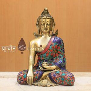Statues of Buddha in Bhumisparsha Mudra