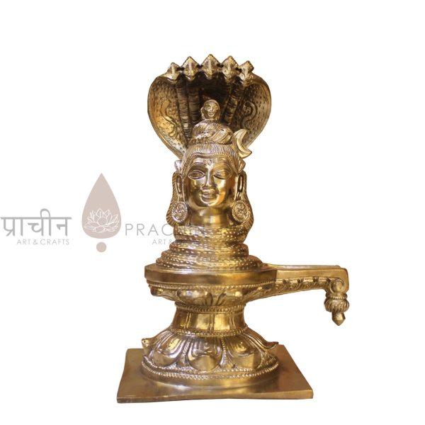 Bronze Mukhalinga