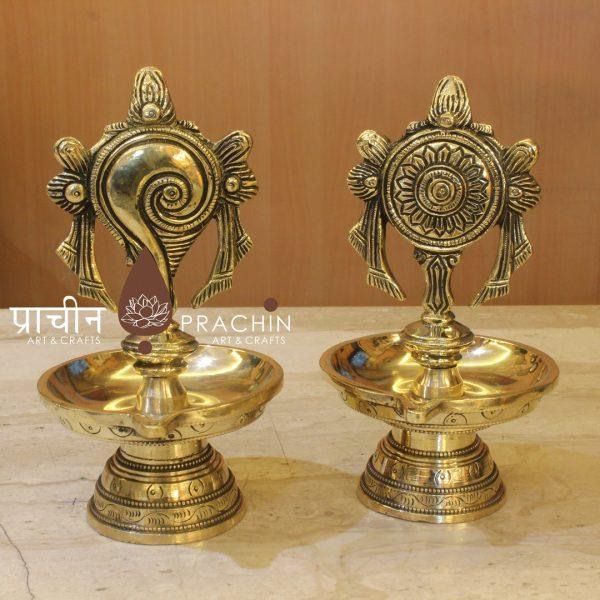 Shanku Chakra Table Lamp